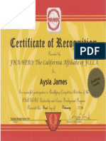 regionals award