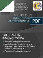 Tolerancia y Autoinmunidad