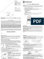 Intermatic DT27 Timer Manual