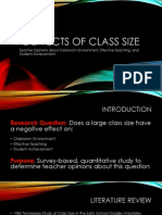 the effects of class size
