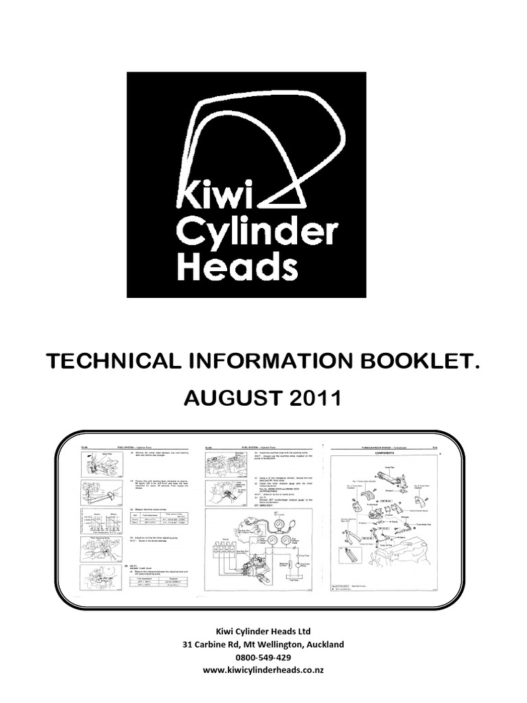 Technical Information Booklet Galvanization Screw Nissan Td27 Engine Manual Pdf