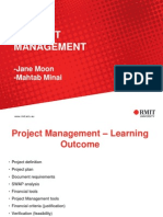 Lesson 6. Project Management