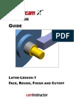mastercam x3 lathe pdf machine tool machining rh scribd com Lathe Mastercam X8 Mastercam Lathe Example