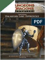 Undermountain - Halaster's Lost Apprentice