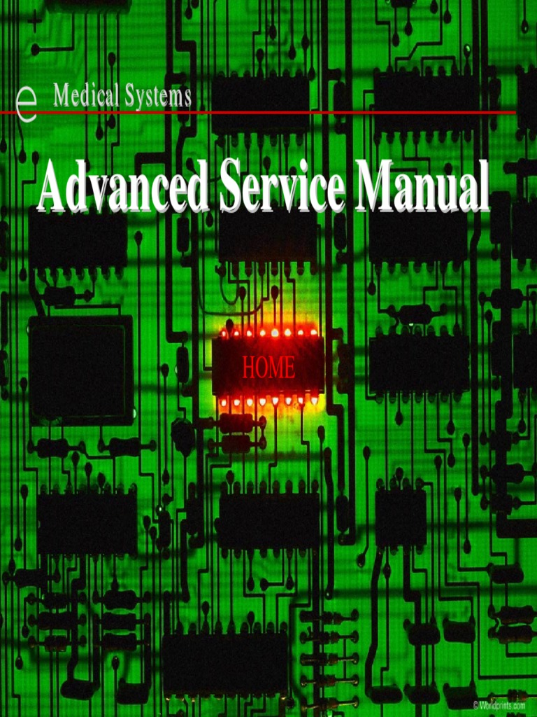 ge stenoscop 2 advanced service manual vacuum tube capacitor rh es scribd com Manual Area Medical Medical Data