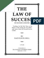 Law of Success Napoleon Hill