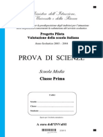 Scienze Prima Media Pp3