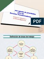 Agenda de Prioridades Para Las Escuelas Transformadoras[1]