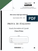 Invalsi2004 Italiano1 Media