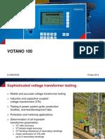 VOTANO 100 Presentation