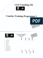 Coerver Coaching Session 1