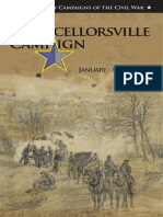 The Chancellorsville Campaign January - May 1863