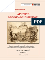 Apuntes Mecanica de Fluidos I Prof Lautaro