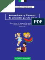 Antecedentes y Conceptos de EpS