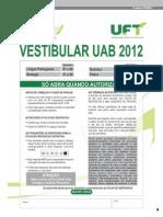 Prova Vestibular Uab2012 (1)