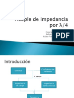 Acople de Impedancia l/4