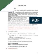 CARATER DE DEUS  Pr Marconde.doc