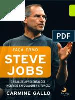 Faca Como Steve Jobs - Carmine Gallo