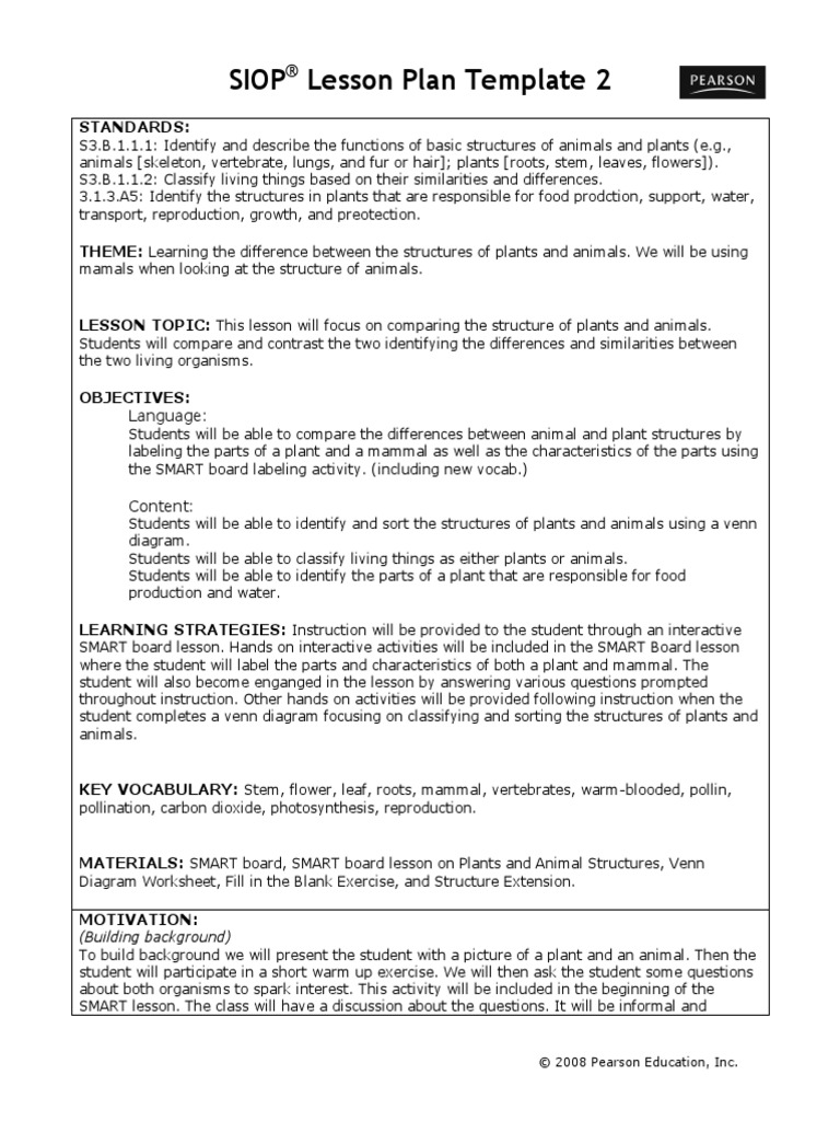 Siop ell emily and steph 5 6 vocabulary lesson plan pooptronica Images