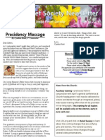 RS Newsletter May 2014