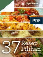 37 Resep Pilihan Tahun 2013(Dapur Masak.com)