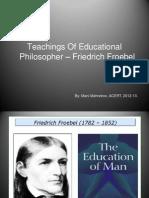 Fretdrich Froebel Final