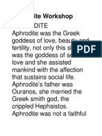 Aphrodite Workshop.rtf