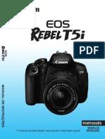 Manual EOS Rebel T5i