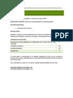 Control_Tecnicas en Prevencion de Riesgos en Sector Productivo