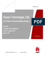 Huawei Solutions ACE Presentation
