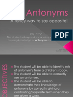antonyms - lesson plan - pp 2