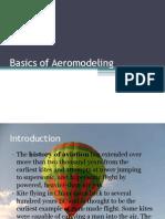 Basics of Aeromodeling
