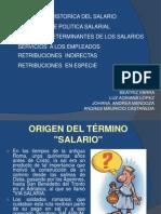 Origen Del Salario