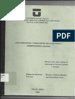 Atenuantes y Agravantes en La Doc y Jp Chilena Pte 1