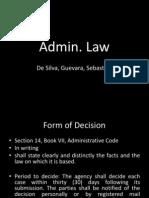 Presentation ADMIN