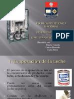 Evaporacion en Proceso de Leche Evaporada- Banda Hurtado Perez