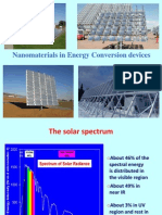 Energy Conversion Materials