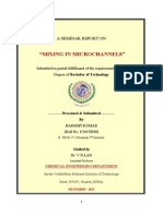 seminar report on mixing in microchannels (surat,india)