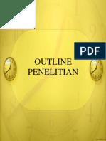 Outline Penelitian