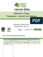 TutorialQGIS Topography Azimuth and Distance