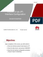 BSC6810 V2.9 Iub(IP) Interface Configuration