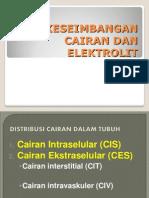 Keseimbangan Cairan & Elektrolit Paparan