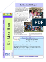 SI of Central Oahu Newsletter May 2014
