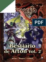 Bestiario de Arton Vol 2 Combo Fisico Digital Arthur Barbosa Ped 26923