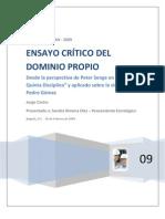 Don Pedro Gómez - Los principios y valores