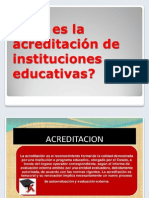 ppt acreditación