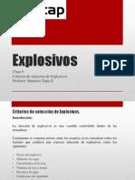 Clase 6 Explosivos