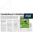 Canterbury Chatham Cup challengers ready to kick off (The Star, May 7, 2014)