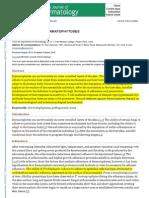 Pathogenesis of Dermatophytoses