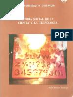 Teoría Social de La Ciencia y La Tecnología de Daniel Herrera